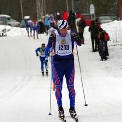Skiing 90 km - Dick Gustafsson (1219)