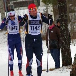 Skiing 90 km - Henrik Eknor (1047), Uwe Weiss (1143)