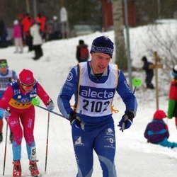 Skiing 90 km - Solfrid Braathen (514), Adam Burström (2102)