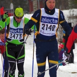 Skiing 90 km - David Jönsson (2148), Christophe Cordier (3473)