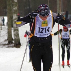 Skiing 90 km - Erik Nygren (1214)