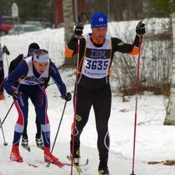 Skiing 90 km - Anders Wiig (3635)