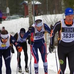 Skiing 90 km - Henrik Aiff (1120), Anders Wiig (3635)