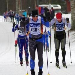 Skiing 90 km - Tomas Lindén (2609), Henry Martin Forfod (2617), David Czuczor (4419)