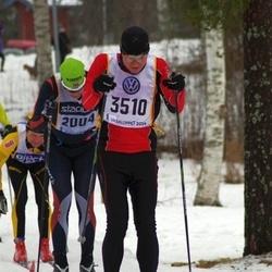 Skiing 90 km - Henrik Landström (2004), Stefan Smeds (3510)