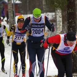 Skiing 90 km - Henrik Landström (2004), Tommy Grip (2174)