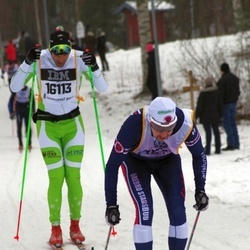 Skiing 90 km - Denis Salati (16113)