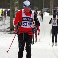 Skiing 90 km - Henrik Johansson (3349)