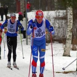 Skiing 90 km - Oskar Larsson (3059), Anders Ottosson (3071)