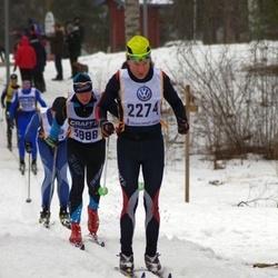 Skiing 90 km - Daniel Ehn (2274), Svein Olav Stranden (3888)
