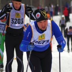 Skiing 90 km - Ulrik Karlsson (3203), Henrik Bergqvist (12573)