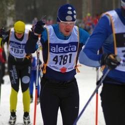 Skiing 90 km - Henrik Holma (4181)