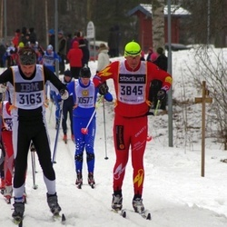 Skiing 90 km - Niklas Eklund (3163), Christian Hagberg (3845)