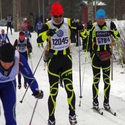 Skiing 90 km - Rune Holmgren (6784), Hugo Schretter (12045)