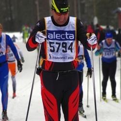 Skiing 90 km - Erkki Mäkinen (5794)