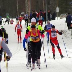 Skiing 90 km - Åsa Bäck (17817)