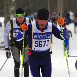 Skiing 90 km - Eberhard Lind (5673)