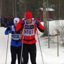 Skiing 90 km - Elias Hammar (5501)