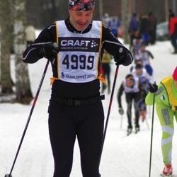 Skiing 90 km - Henrik Ejderholm (4999)