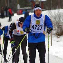 Skiing 90 km - Fredrik Pattyranie (4727)