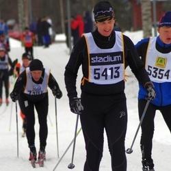 Skiing 90 km - David Nestor (5354), Axel Rällfors (5413)