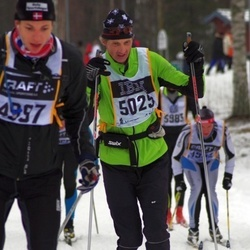 Skiing 90 km - Henrik Karlsson (5025)
