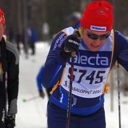 Skiing 90 km - Anders Larsson (5745)
