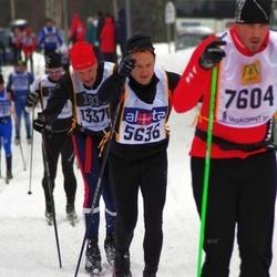 Skiing 90 km - Jan Henriksen (5636), David Danielsson (7604)