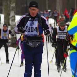 Skiing 90 km - Carl-Johan Dyverfeldt (5904)