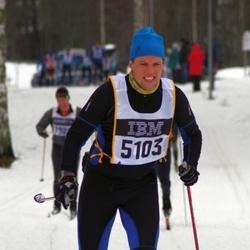 Skiing 90 km - Anders Lindgren (5103)