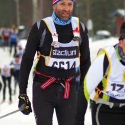 Skiing 90 km - Christian Carlem (6614)