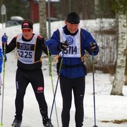 Skiing 90 km - Henrik Jakobsson (6225), Axel Kristoffersen (15114)