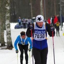 Skiing 90 km - Henrik Lokander (7030)