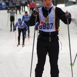 Skiing 90 km - David Kroik (8807)