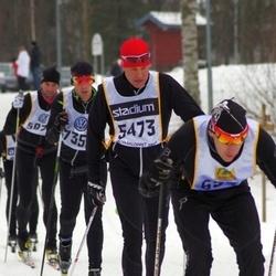 Skiing 90 km - Fredrik Dahl (5473)