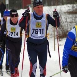 Skiing 90 km - Henrik Ilhamn (7611)