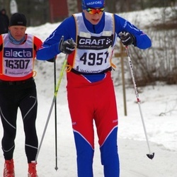 Skiing 90 km - Adam Johansson (4951), Jörg Köhler (16307)