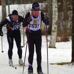 Skiing 90 km - Christer Park (6537)
