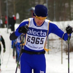 Skiing 90 km - Emil Lundgren (6965)
