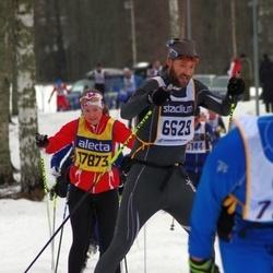 Skiing 90 km - Stefan Mossvall (6629), Cecilia Thörnblom (17873)