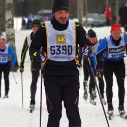 Skiing 90 km - Edvard Gynge (5390)