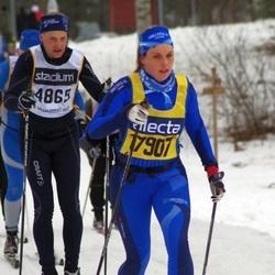 Skiing 90 km - Göran Isaksson (4869), Elin Magdalena Blom (17907)