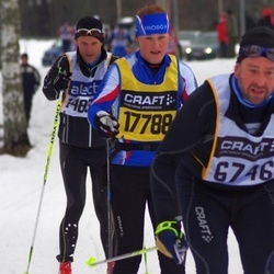 Skiing 90 km - Charlotta Nilsson (17788)