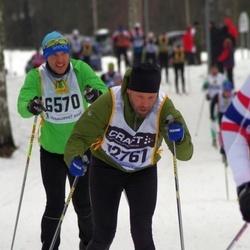Skiing 90 km - Daniel Eriksson (6570)