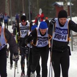 Suusatamine 90 km - Ian Baden (6610), Anders Nygård (8146), Patrik Stenlund (10844)