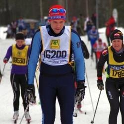 Skiing 90 km - Fredrik Wernersson (16200)