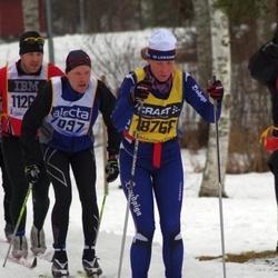 Skiing 90 km - Jems Martinsson (7097), Karin Johansson (18768)
