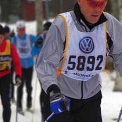 Skiing 90 km - Henrik Rundcrantz (5892)