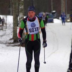 Skiing 90 km - Fredrik Hammar (6013)