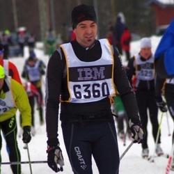 Skiing 90 km - Henrik Johansson (6360)